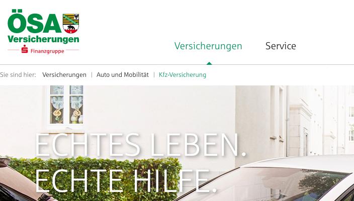 oesa-kfz-versicherung-homepage