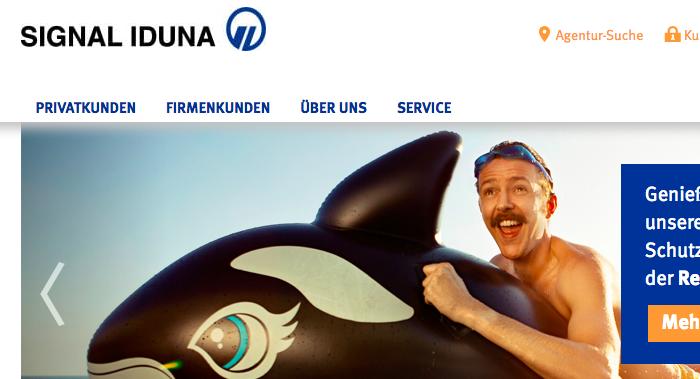 signal-iduna-kfz-versicherung-webseite
